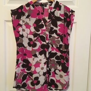 Milano button up blouse Size M